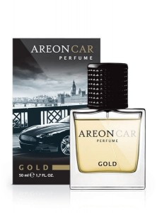 GLASS Areon PERFUME 50ML Gold